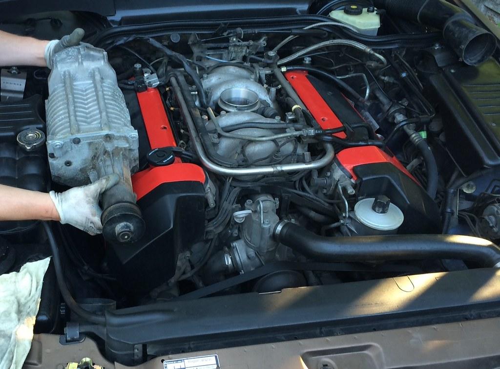 Mercedes R129 SL500 V8 M119 Engine Kompressor Supercharger