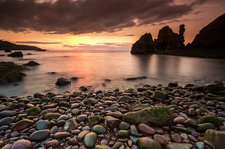 St. Abbs sunset | by Damon Finlay