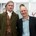 When Walter Scot met James Robertson at the Edinburgh International Book Festival |