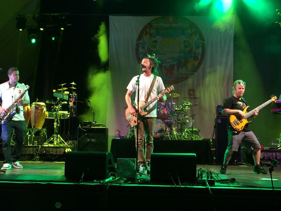 SOJA in concert @ Waikiki Shell by 808Talk