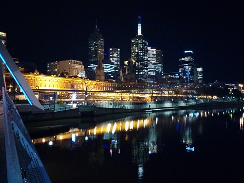#Melbourne, you're looking lovely tonight