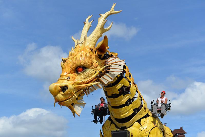Cheval-dragon, Compagnie La Machine, Nantes 2014