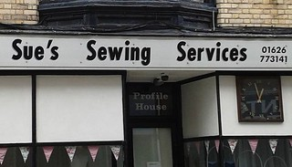 Sue's Sewing Services by Ruth Homer | by Map of the Urban Linguistic Landscape