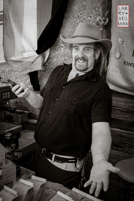 Character Portrait - Owner - Bisbee Coffee Roasters