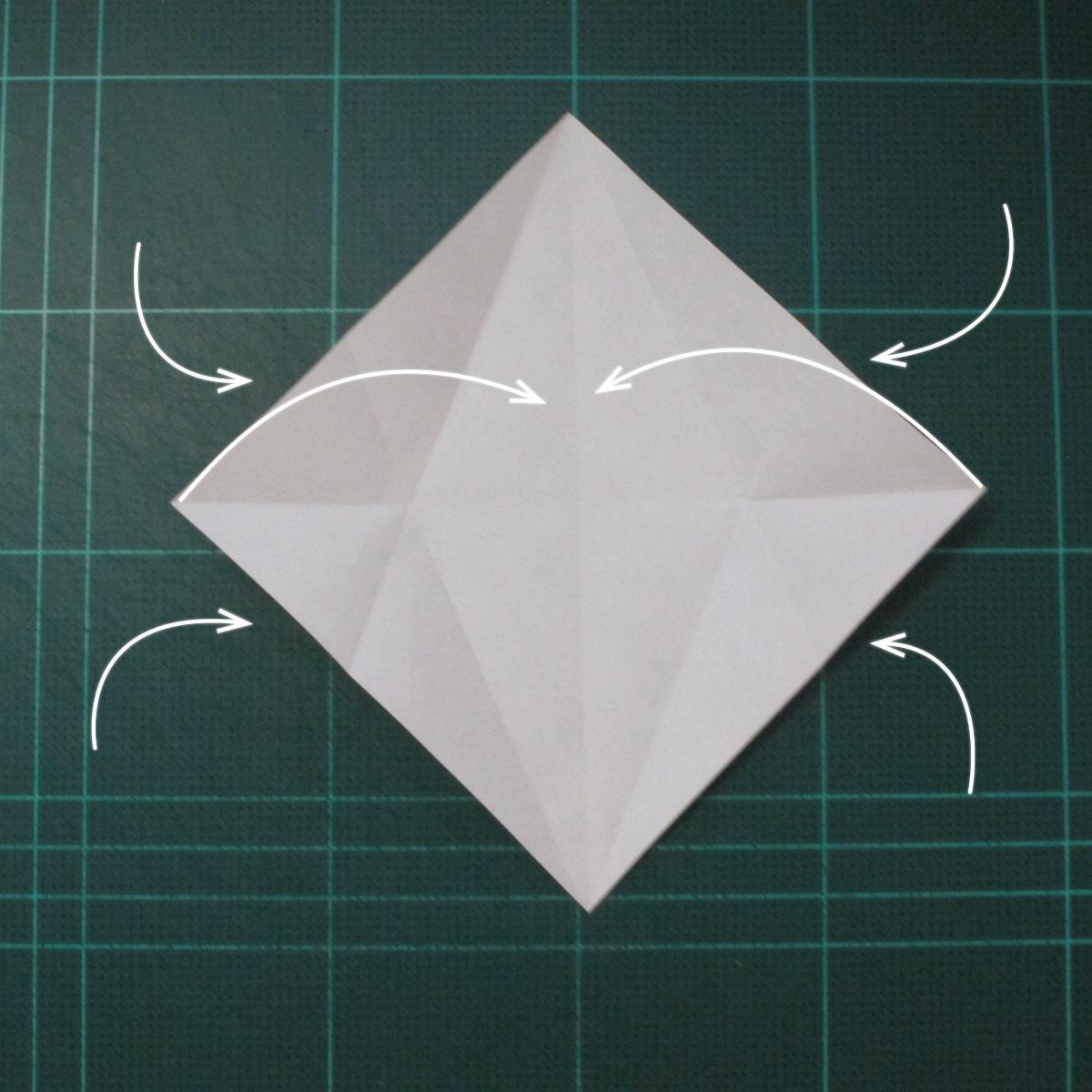 วิธีพับกระดาษเป็นรูปปลาโลมาแบบง่าย (Easy Origami Dolphin) 003