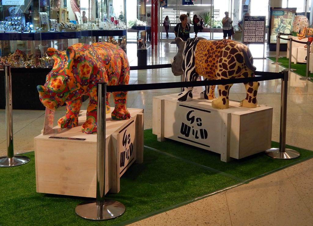 Rhino Display, Roselands Shopping Centre, Roselands, Sydney, NSW.