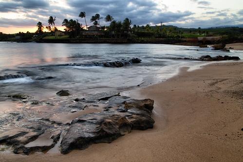 sunset beach canon hawaii unitedstates koloa 6d