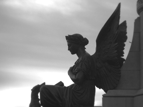 "angel in dublin ( ""black and white"" )"
