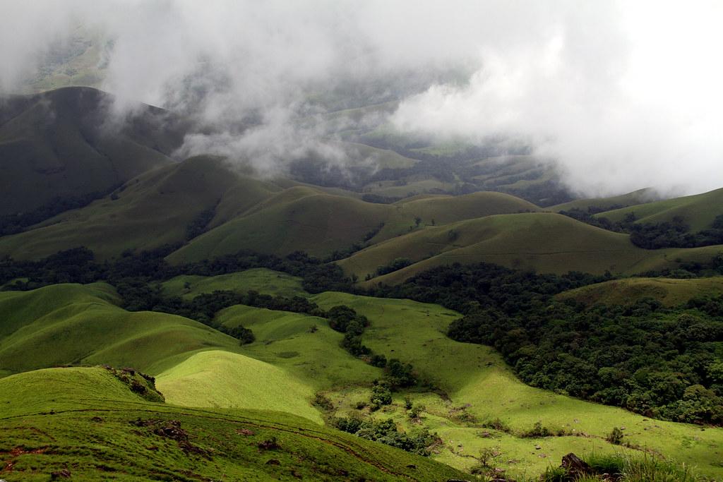 Road to Kudremukha Peak