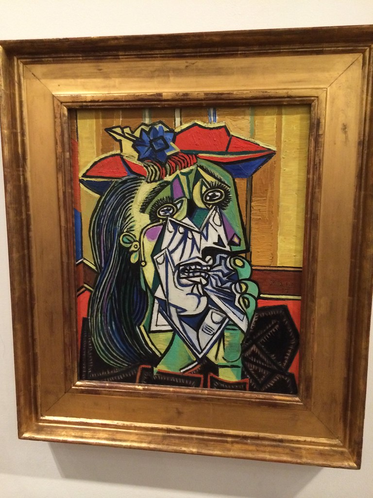 "Picasso's ""Weeping Woman"""