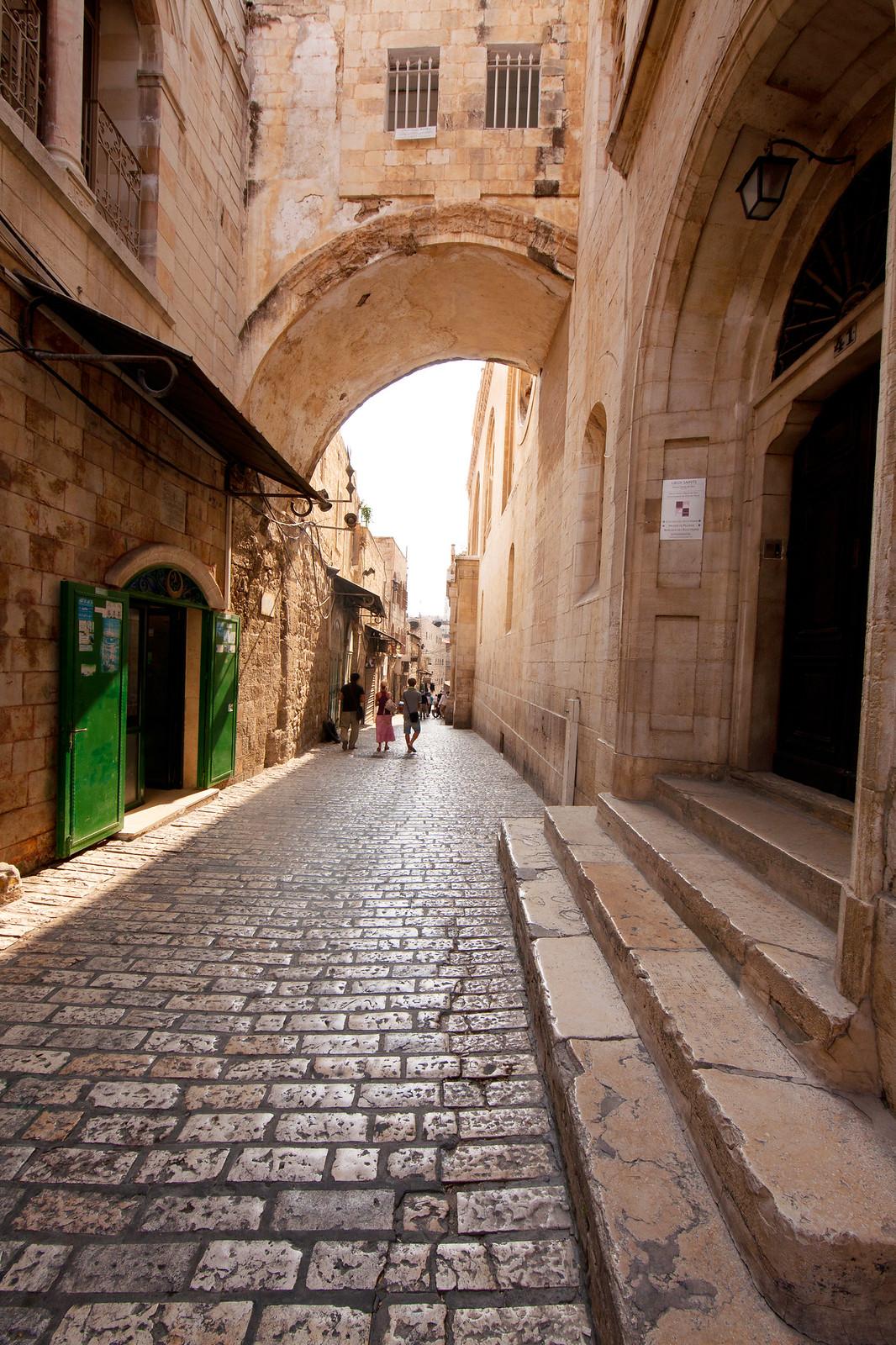Jerusalem_Via Dolorosa_Ecce Homo Arch_Noam Chen_IMOT