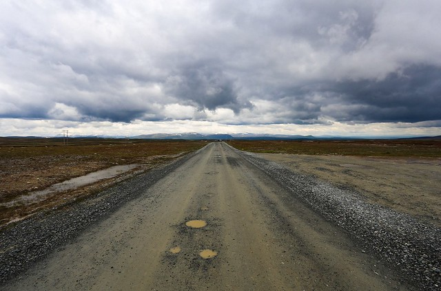 The highest main road in Sweden