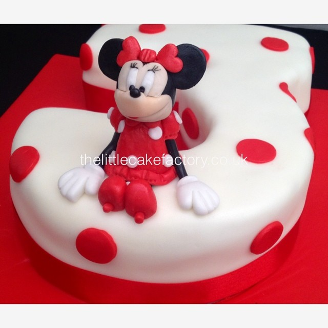 Miraculous Minnie In Red Number 3 Cake Minnie Minniemouse Red Num Flickr Personalised Birthday Cards Paralily Jamesorg