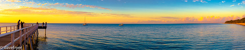 sunset panorama dave queensland torquay magichour fryer herveybay frickr canon6d davefryer