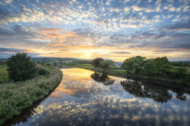 River Mourne - Strabane - County Tyrone