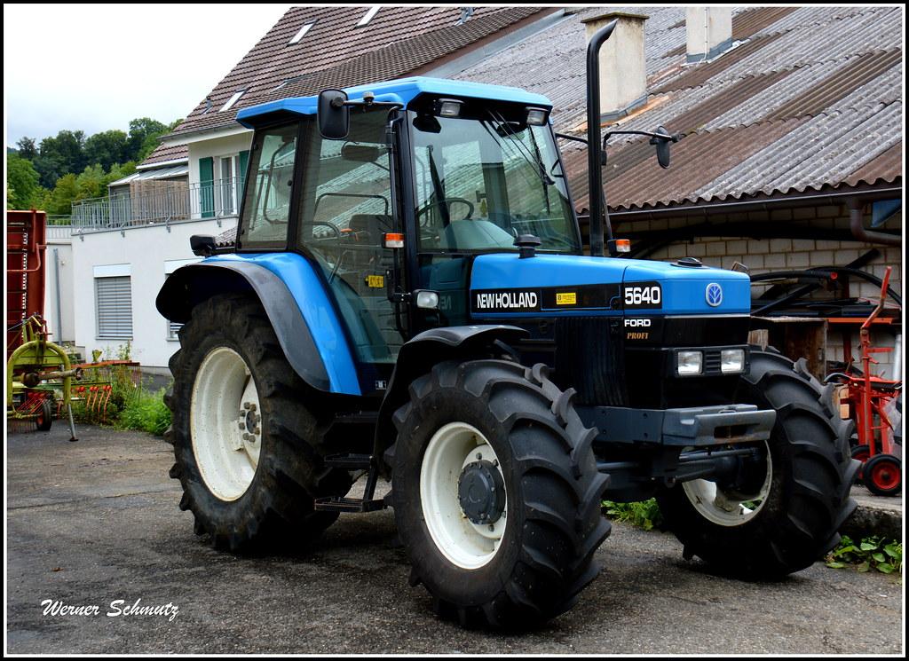 Ford New Holland >> Ford New Holland 5640 Profi Werner Schmutz Flickr