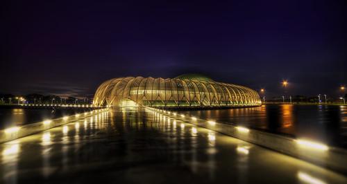 rain night lights university florida polytechnic