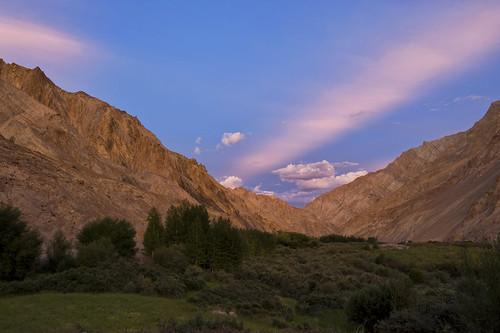 sunset india beautiful trek nikon leh ladakh chiling jammuandkashmir 2470 d700 skiu