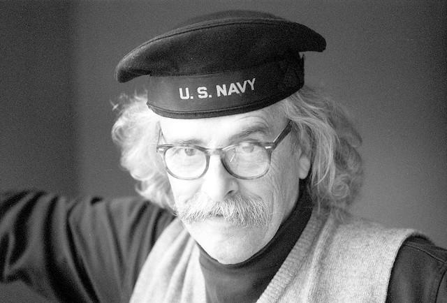 Capt'n Stone in U.S. Navy Cap