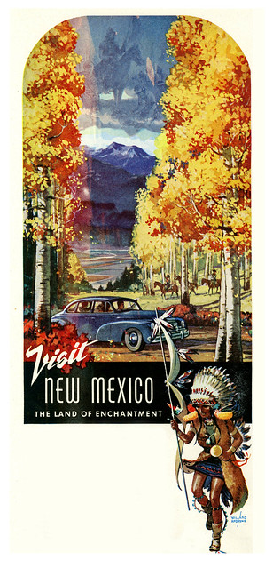 Anytime is Vacation Time in New Mexico, 1948, Willard Andrews