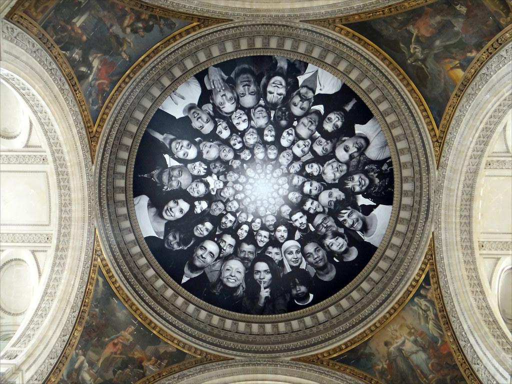 L'artiste JR investit le Panthéon (Paris)