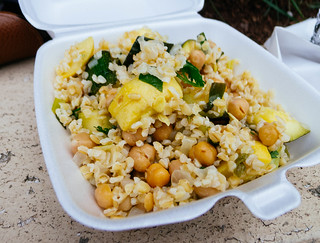 Squash and Bulgur Wheat Salad | by Hybernaut