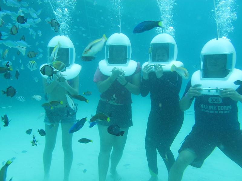 boracay helmet diving 2014