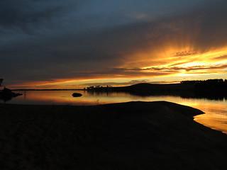 Sunset at Cairn Curran