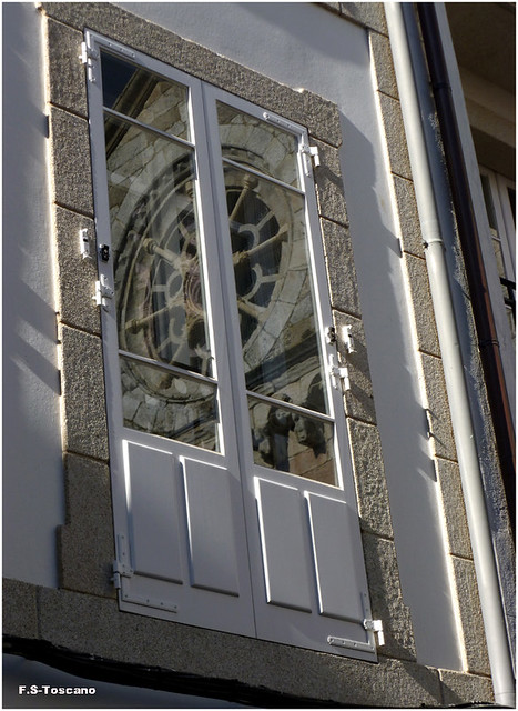 Reflejo románico. Romanesque reflection.