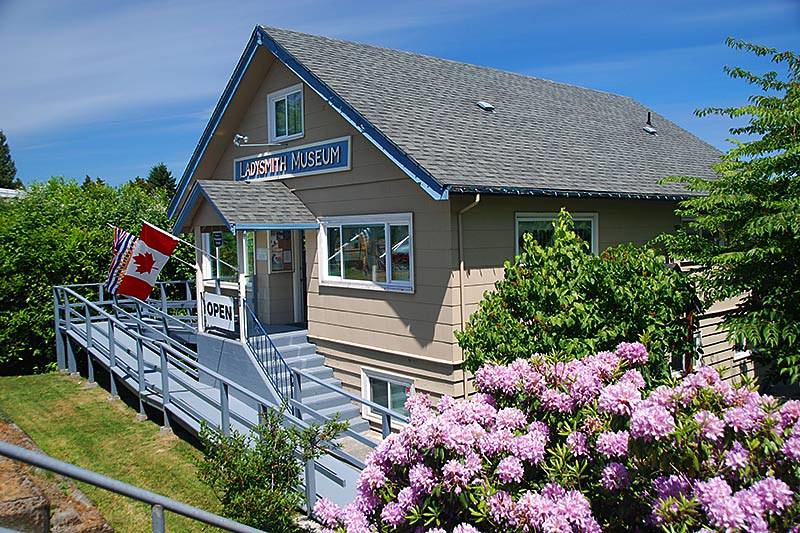 Ladysmith Museum, Ladysmith, Vancouver Island, British Columbia, Canada