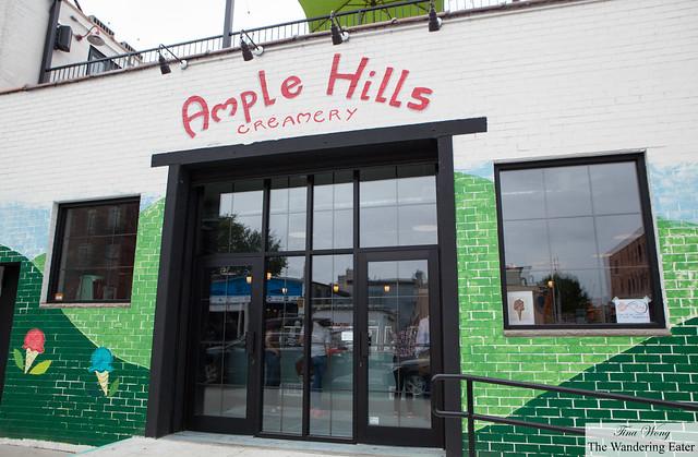Exterior of Ample Hills Creamery Gowanus location