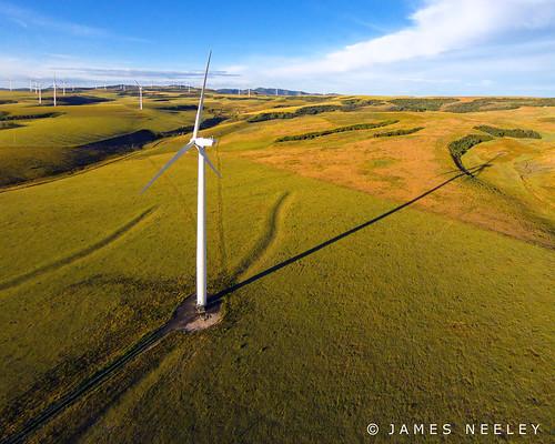 windmill idaho aerialphotography windturbine windgenerator jamesneeley