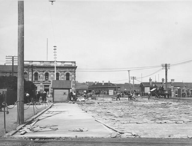 Street Paving, Lower Rattray Street, 1922