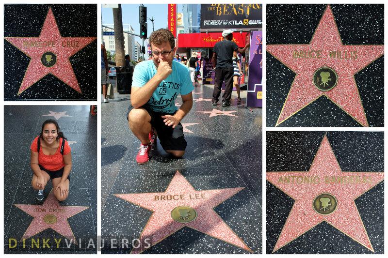 Hollywood. Estrellas del Paseo de la Fama