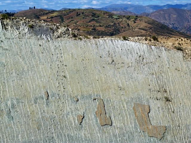 Yacimiento de Cal Orcko con miles de huellas de dinosaurios (Bolivia)
