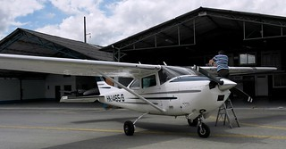 Cessna 182 Plane for aerial photography.