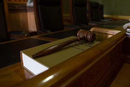 Iowa Supreme Court Gavel