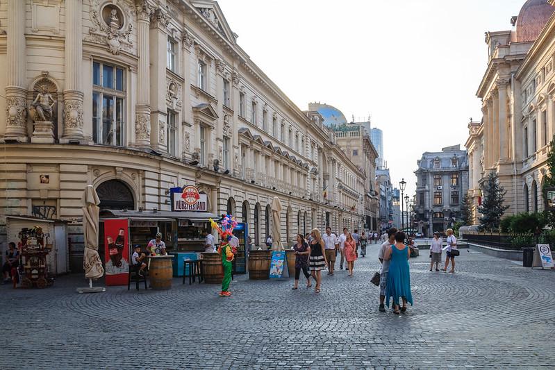 Bucharest, Old Town, 2014 by Daniel Mihai
