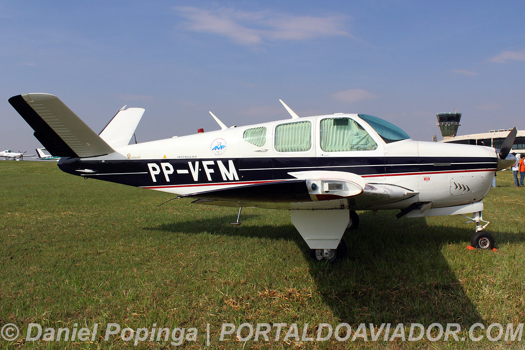 PP-VFM - Beechcraft Bonanza M35 | Local: Aeroporto Regional