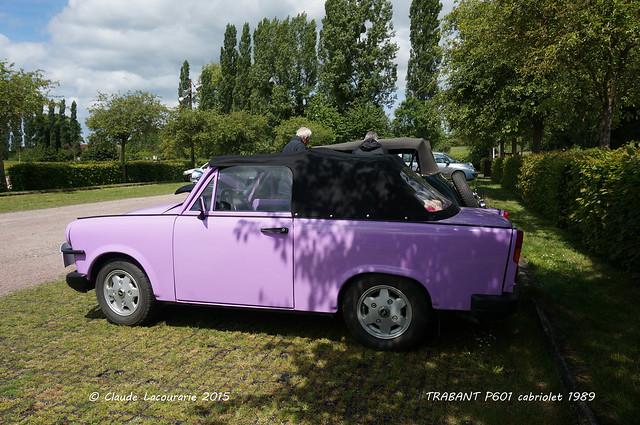 TRABANT 601-S ,roadster, cabriolet ,1989
