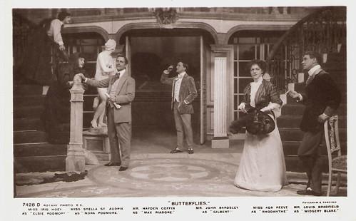 Ada Reeve and C. Hayden Coffin in Butterflies (1908)