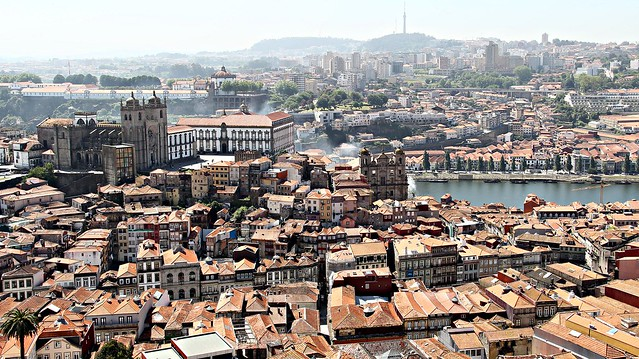 View of Porto!