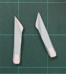 วิธีทำโมเดลกระดาษคุกกี้รันจิ้งจอกเก้าหางในร่างหมาจิ้งจอก (Cookie Run Ninetails Fox Form Papercraft Model) 005