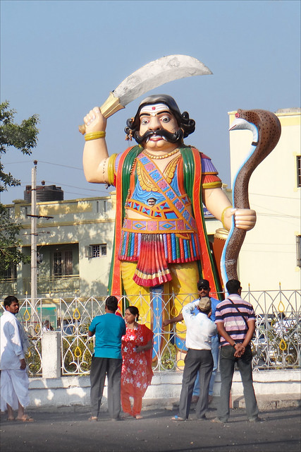 Statue du démon Mahishâsura (Mysore, Inde)