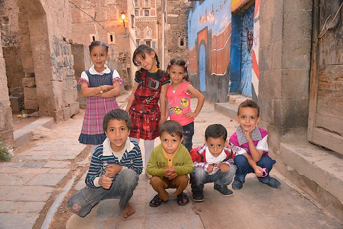 Sana'a Kids, Yemen | by Rod Waddington