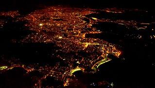 Rio de Janeiro - Aerial Photo Night / Foto Aérea Noturna