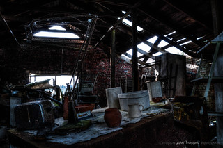Holdings Country Pottery - Inside the Barn | by DugieUK