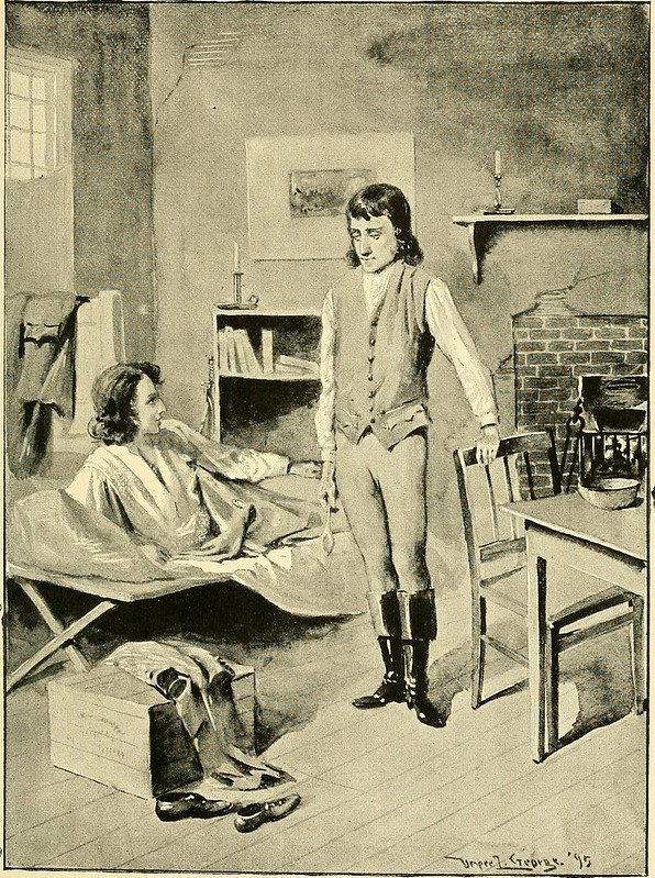 """Image from page 200 of """"The boy life of Napoleon, afterwards emperor of the French"""" (1895)"""