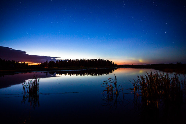 At the edge of the Boreal with a hint of the Aurora