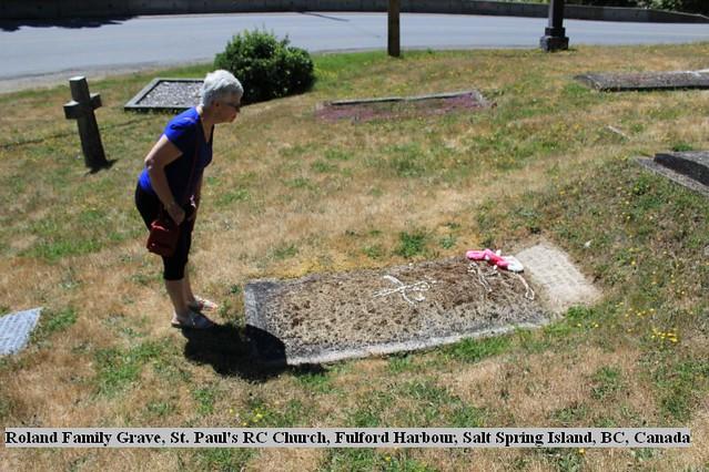 St. Paul's Kanaka Graves: Roland Family